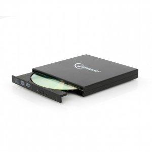 Gembird DVD-USB-02 dysk optyczny Czarny DVD±RW