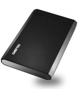 Obudowa Chieftec External CEB-2511-U3 (2.5; USB 3.0; Aluminium, Tworzywo sztuczne; kolor czarny)