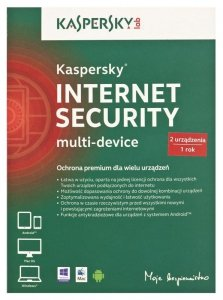 Kaspersky Lab Internet Security Multi-Device Pełna licencja 2 licencja(e) 1 rok/lata Polski