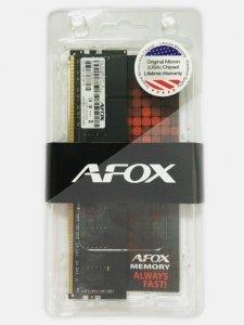 AFOX DDR4 4GB 3000MHZ MICRON CHIP RANK1 AFLD44LK1C