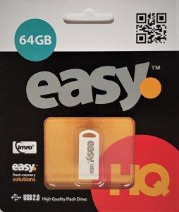 Pendrive IMRO EASY/64GB (64GB; USB 2.0; kolor biały)