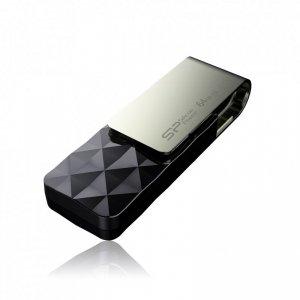 Pendrive Silicon Power Blaze SP064GBUF3B30V1K (64GB; USB 3.1, USB typ A; kolor czarny)