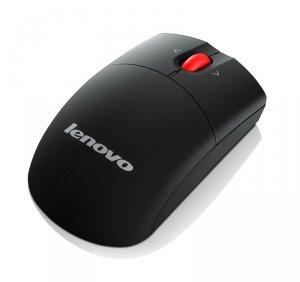 Mysz Lenovo Wireless Laser Mouse 0A36188 (laserowa; 1600 DPI; kolor czarny)