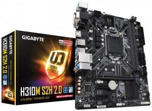 Płyta główna Gigabyte H310M S2H 2.0 (LGA 1151; 2x DDR4 DIMM; Micro ATX)