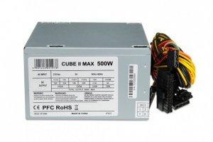 iBox CUBE II moduł zasilaczy 500 W ATX Srebrny