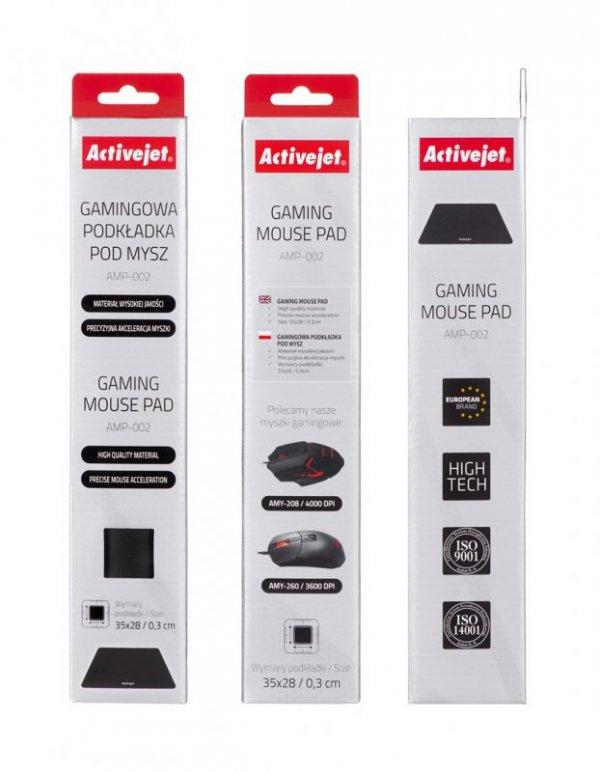 Activejet Gamingowa podkładka pod mysz AMP-002