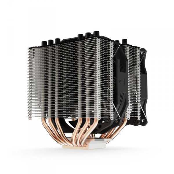 SilentiumPC Grandis 3 Procesor Chlodnica/wentylator 120/140 mm Czarny
