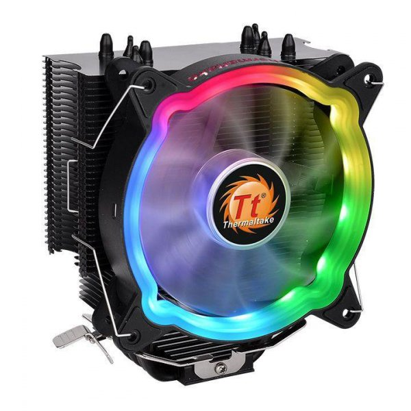 Thermaltake UX200 ARGB Lighting Procesor Chlodnica/wentylator 12 cm Czarny