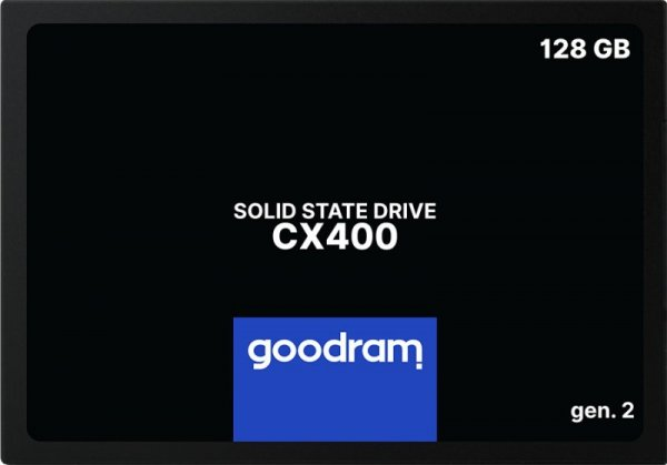 "Goodram CX400 gen.2 2.5"" 128 GB Serial ATA III 3D TLC NAND"