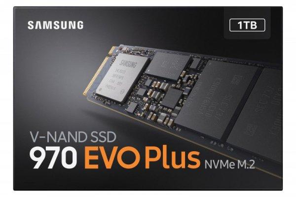 Dysk Samsung 970 EVO Plus MZ-V7S1T0BW (1 TB ; M.2; PCIe NVMe 3.0 x4)
