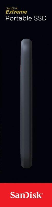 SanDisk Extreme 2000 GB Szary, Pomarańczowy