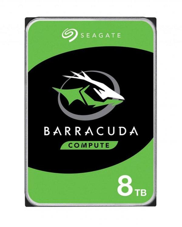"""Dysk HDD Seagate Barracuda ST8000DM004 (8 TB ; 3.5""""; 256 MB; 5400 obr/min)"""