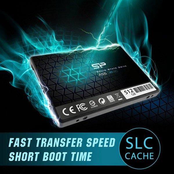 "Silicon Power Ace A55 2.5"" 512 GB Serial ATA III 3D TLC"