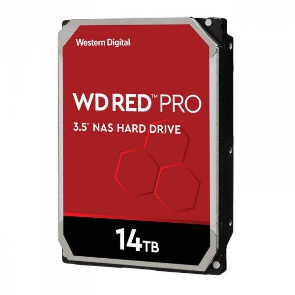 """Dysk HDD WD Red Pro WD141KFGX (14 TB ; 3.5""""; 256 MB; 7200 obr/min)"""
