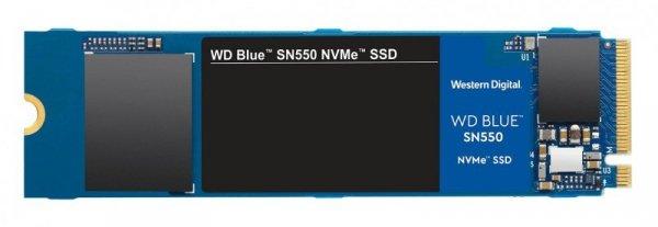 Dysk SSD WD Blue SN550 WDS500G2B0C (500 GB ; M.2; PCIe NVMe 3.0)