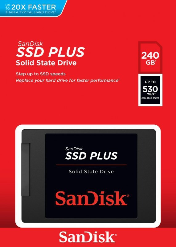 Sandisk Plus 240 GB Serial ATA III  SLC