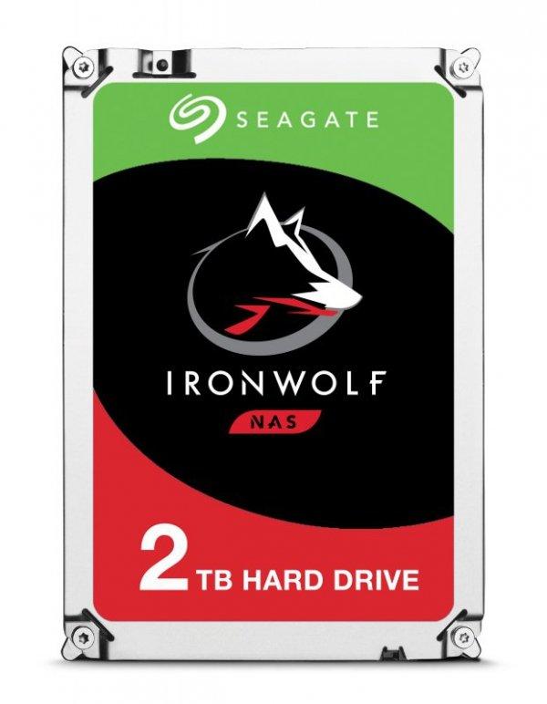 "Seagate IronWolf ST2000VN004 dysk twardy 3.5"" 2000 GB Serial ATA III"