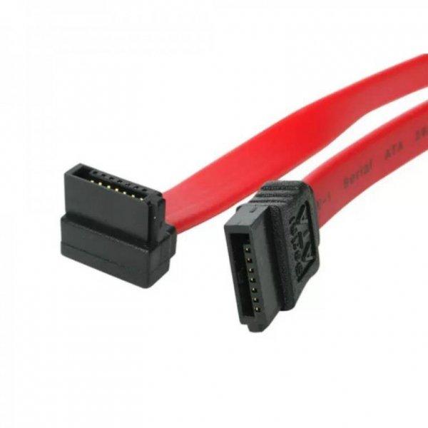 Akyga AK-CA-51 kabel SATA 0,5 m Czarny, Czerwony