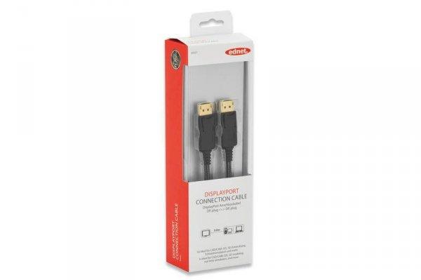 Ednet 84501 kabel DisplayPort 3 m Czarny