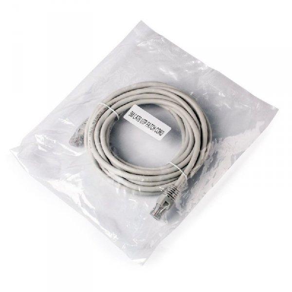 Kabel UTP GEMBIRD PP6U-5M (RJ45 - RJ45 ; 5m; UTP; kat. 6; kolor szary)