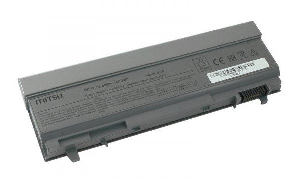 Bateria do laptopa MITSU BC/DE-E6400H (73 Wh; do laptopów Dell)