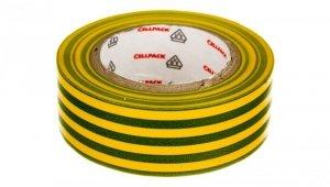 Taśma izolacyjna 128 0.15-19-10 PVC/zółto-zielona