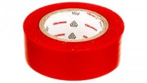 Taśma izolacyjna 128 0.15-19-10 PVC/czerwona
