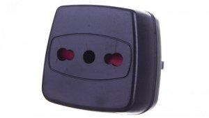 Adapter podróżny Wlochy - Uni-Schuko 1508590