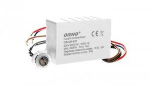 Wyłącznik zmierzchowy z czujnikiem 10A 230V 5-50lx OR-CR-227