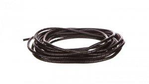 Wąż osłonowy spiralny 10/8,2mm czarny SP9BK /10m/