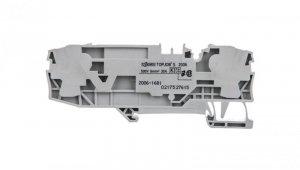 Złączka 2-przewodowa 6mm2 bezpiecznikowa szara 2006-1681 TOPJOBS