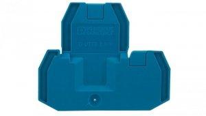 Pokrywa zamykająca niebieska D-UTTB 2,5/4 BU 3047455 /50szt./