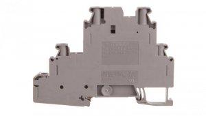 Złączka szynowa ochronna 3-piętrowa 4mm2 szara UT 4-PE/L/TG 3214365 /50szt./