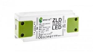 Zasilacz LED 24V DC 12W ZLD 12-24LF0,5A 19724-9005
