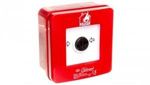 Ręczny ostrzegacz pożarowy NO-NO IP65 WP-2s ROP A 921402