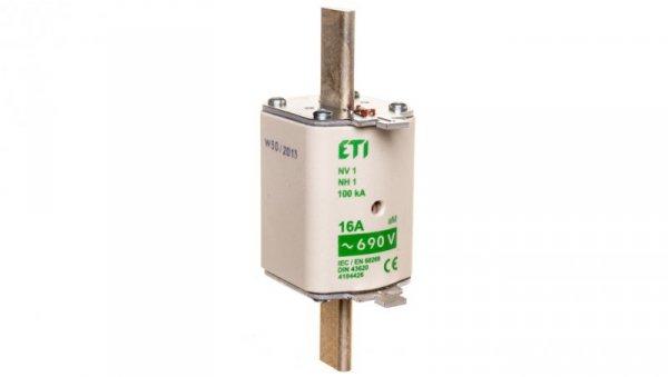 Wkładka bezpiecznikowa KOMBI NH1 16A aM 690V WT-1 004184426