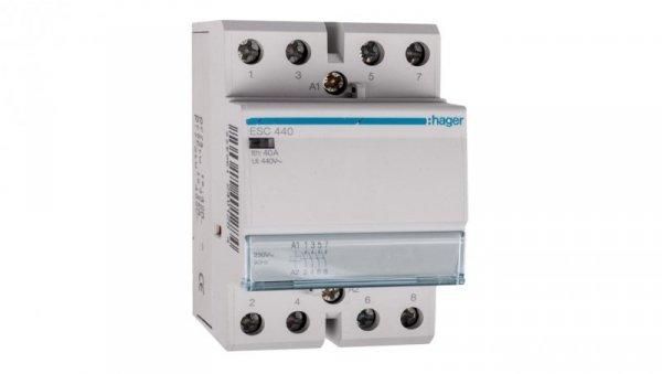 Stycznik modułowy 40A 4Z 0R 230V AC ESC440