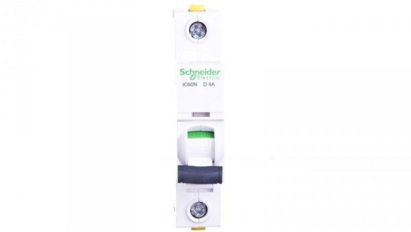 Wyłącznik nadprądowy 1P D 4A 6kA AC iC60N-D4 A9F05104