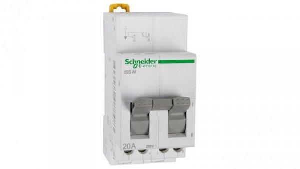 Przełącznik modułowy 0-I 2P 20A iSSW A9E18071