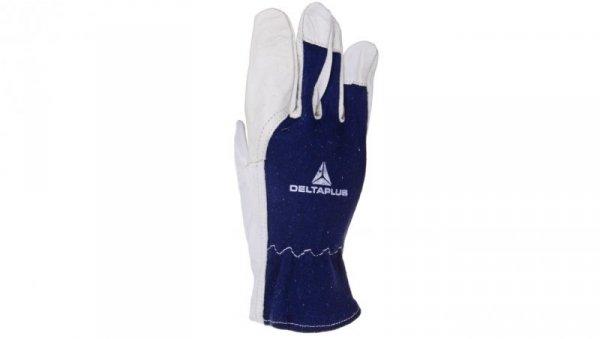 Rękawice ze skóry licowej koziej, krój amerykański CT402BL08