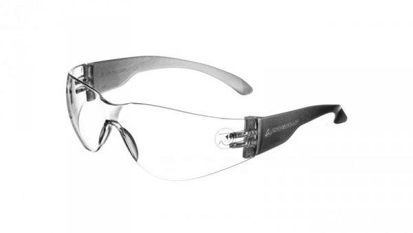Okulary ochronne z poliwęglanu bezbarwne UV400  BRAVA2 CLEAR BRAV2IN