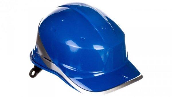 Hełm budowlany niebieski z ABS rozmiar regulowany DIAM5BLFL