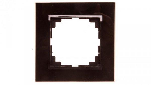 Sentia Ramka pojedyncza szklana czarna 1471-61