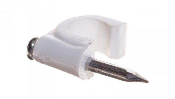 Uchwyt kablowy okrągły fi 7mm FLOP-7 27.07 /100szt./