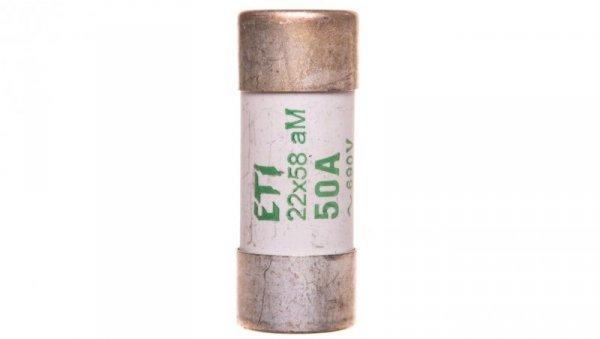 Wkładka bezpiecznikowa cylindryczna 22x58mm 50A aM 690V CH22 002641019
