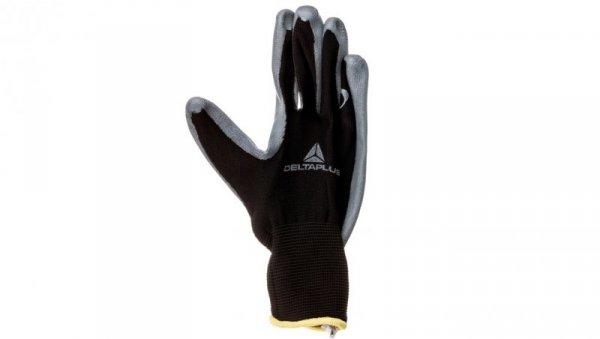 Rękawice dziane z poliestru (100%), dłoń powlekana Nitrylem, ścieg 13 rozmiar 7 VE712GR07