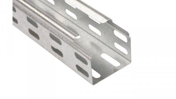 Korytko kablowe perforowane 50x42 grubość 0,5mm KGR/KPR50H42/3 140205 /3m/