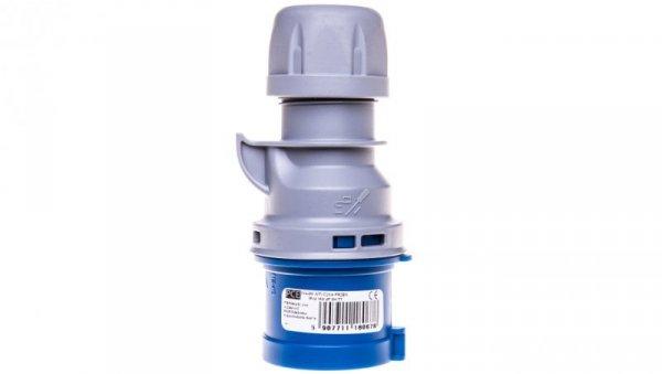 Wtyczka przenośna 16A 4P 230V niebieska IP44 TURBO SHARK 014-9TT