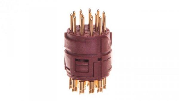 Wkład 16 stykowy do złączy M23 żeński lutowany EPIC M23 P-Part 73002702