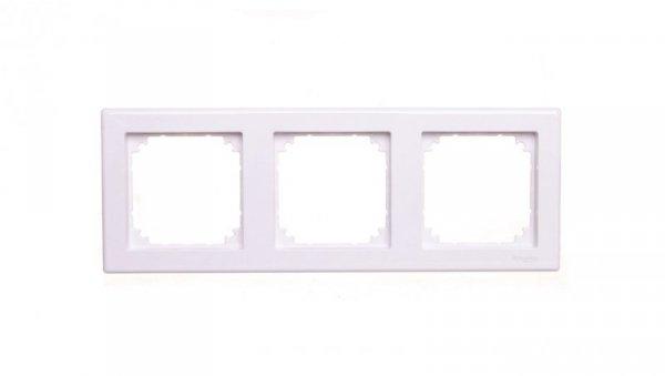 Merten M-Smart Ramka potrójna biała MTN478325